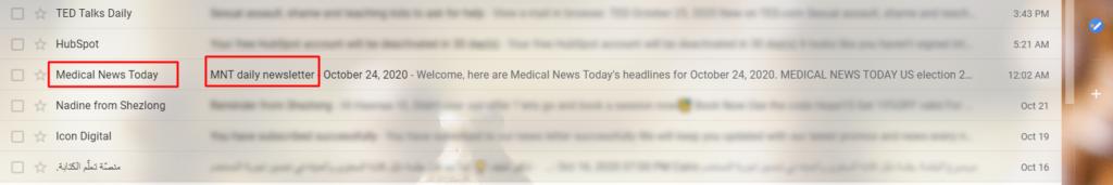 التسويق عبر رسائل البريد الإخبارية