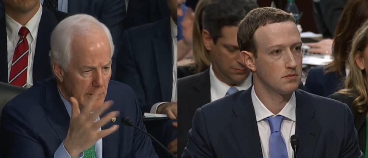 أعضاء الكونجرس يستجوبون مؤسس فيسبوك