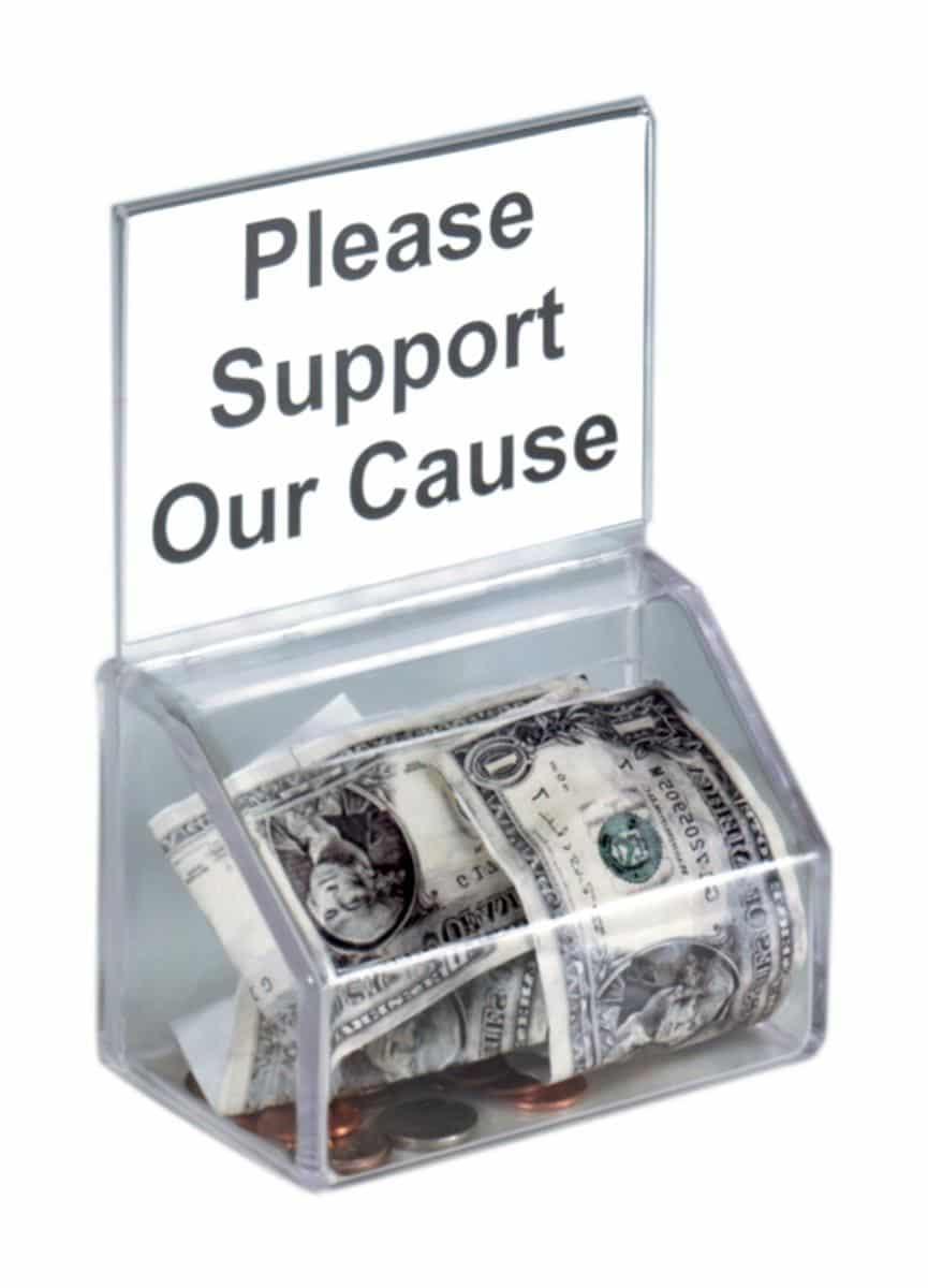 Charities effort