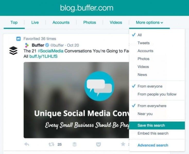 التسويق عبر buffer