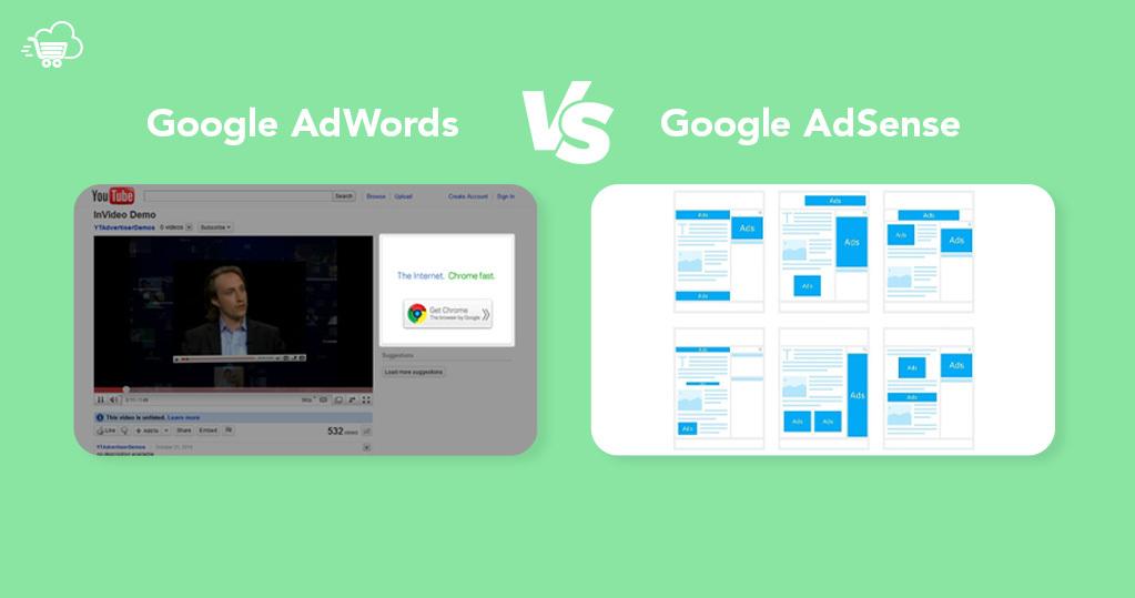 Google AdWords vs AdSense