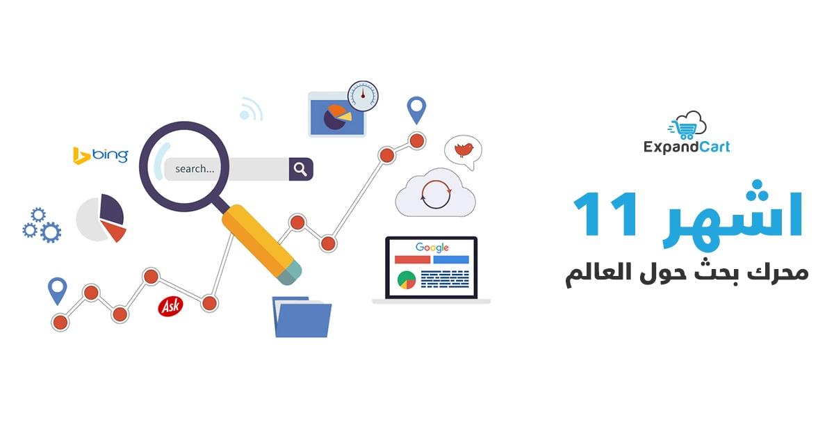 محركات البحث او محرك بحث على شبكة الانترنت