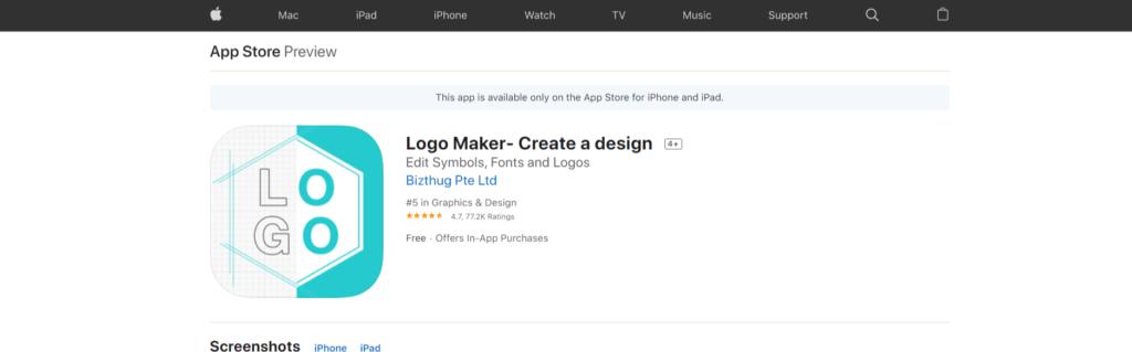 تطبيقات لـ تصميم لوجو لمتجرك الإلكتروني