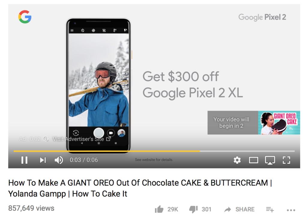 الدفع مقابل النقر في إعلانات اليوتيوب