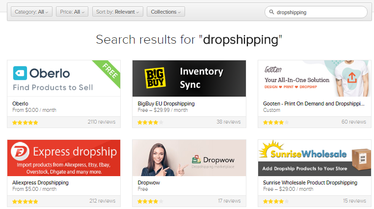 Dropshipping Companies