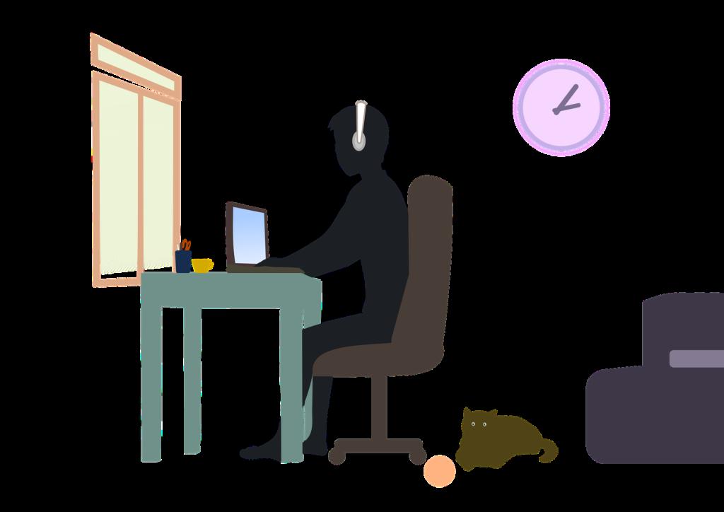 مفهوم العمل عن بعد
