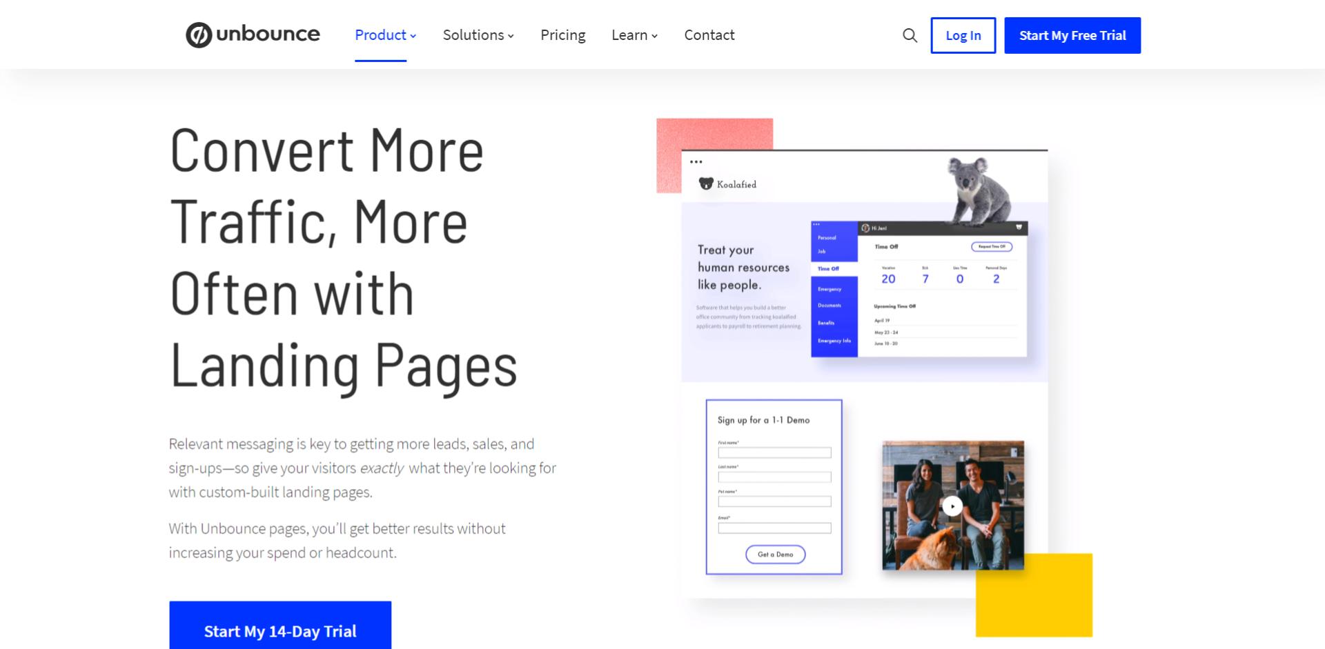 أدوات لـ انشاء Landing Pages