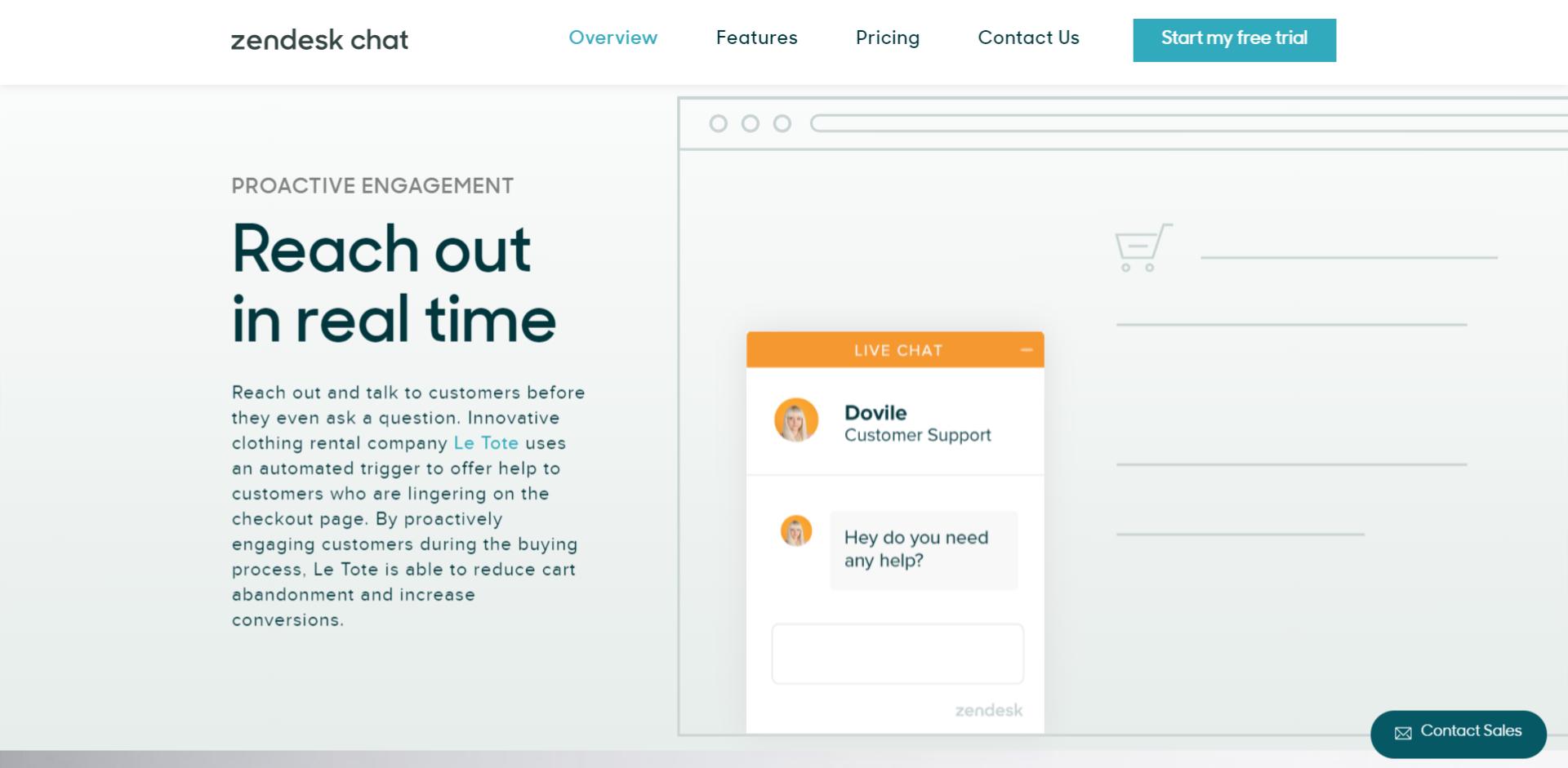 Zendesk chat من أهم خدمات التواصل مع العملاء