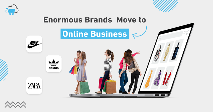 Brands move to online business