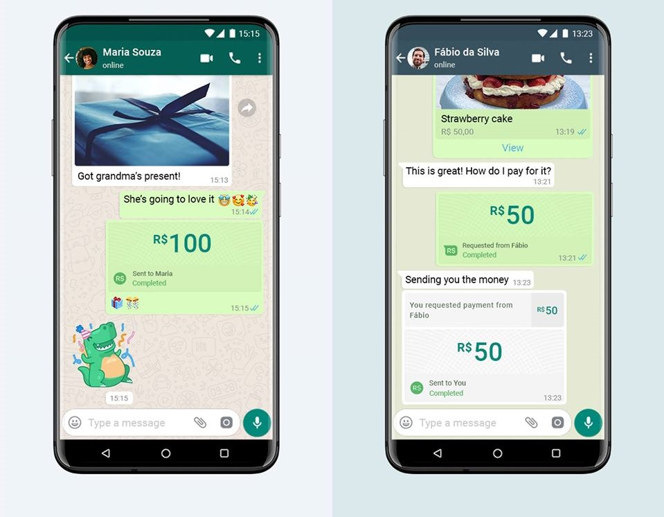 مدفوعات واتس أب WhatsApp Payment
