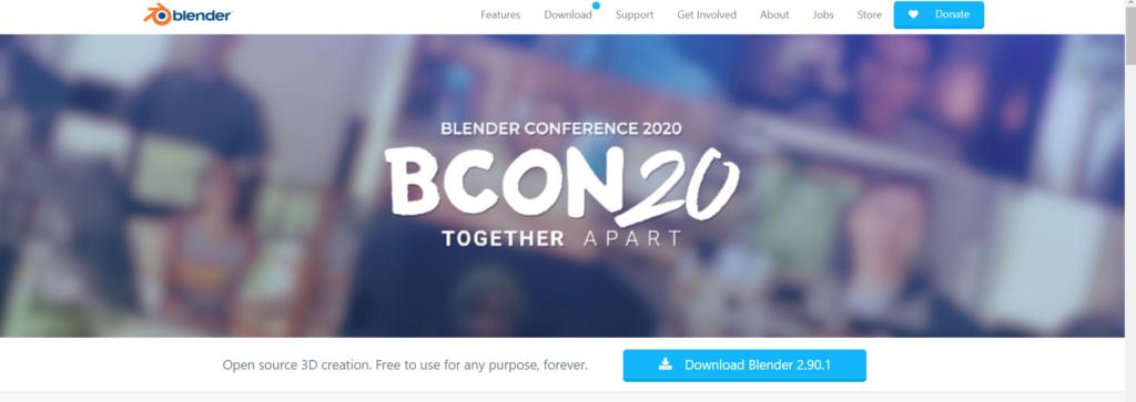 Blender لتعديل فيديوهات متجرك