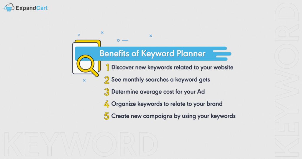 Benefits of Keyword Planner
