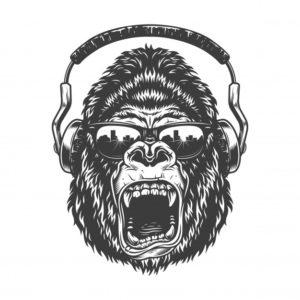 Gorilla headphones