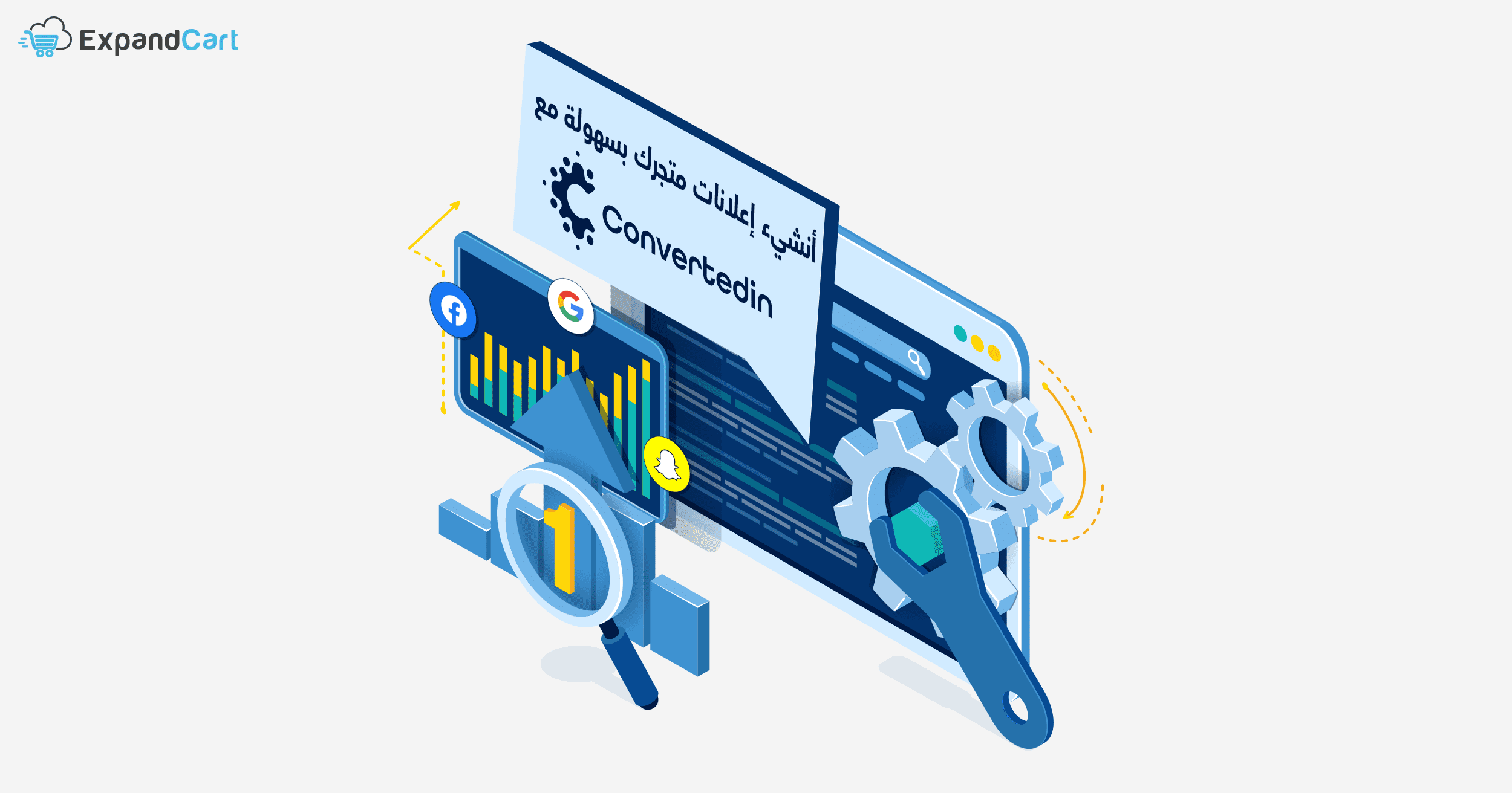 Convertedin Ads Automation - أتمتة التسويق كونفرتد ان