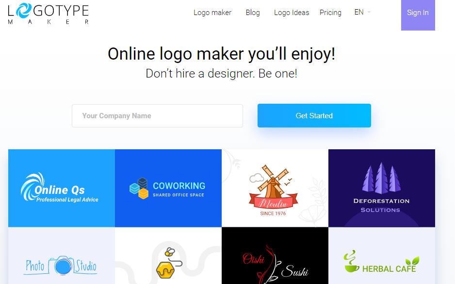 brand logo templates - slogan generator