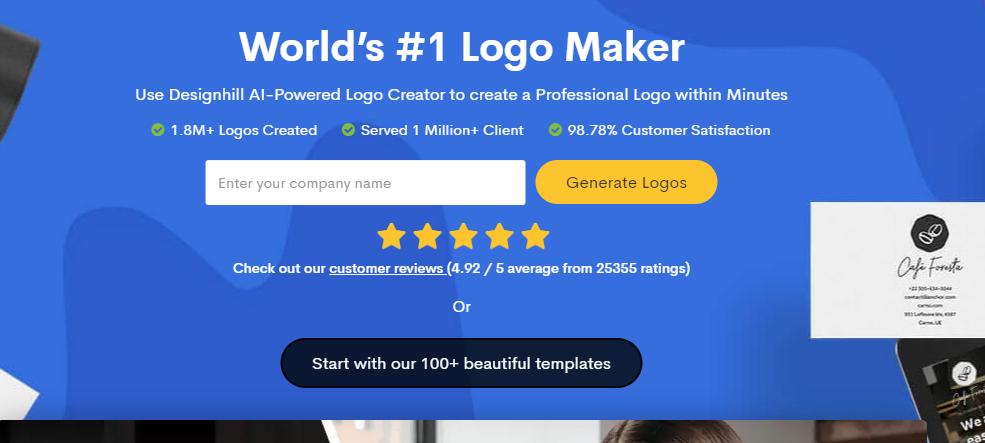 brand logo templates - slogan maker