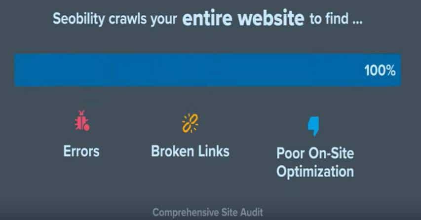 Seobility, review backlink profiles
